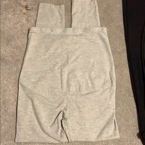 Maternity Pants in light grey OH! MAMA brand